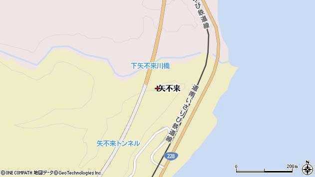 〒049-0286 北海道北斗市矢不来の地図