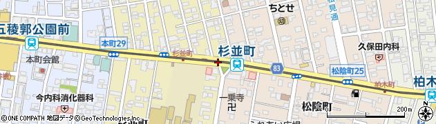 杉並町22周辺の地図