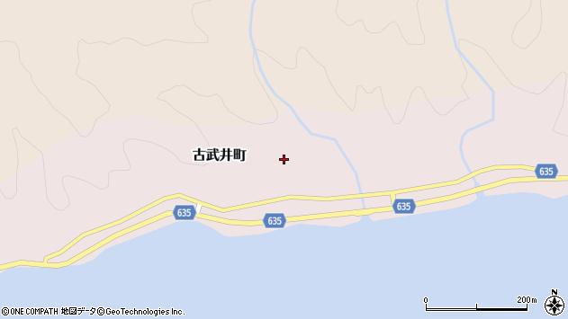 〒041-0524 北海道函館市古武井町の地図
