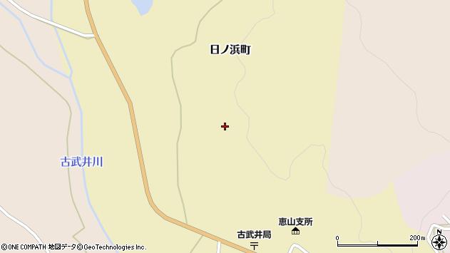 〒041-0525 北海道函館市日ノ浜町の地図