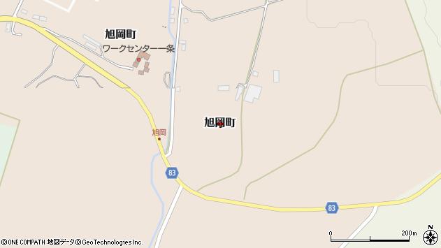 〒042-0916 北海道函館市旭岡町の地図