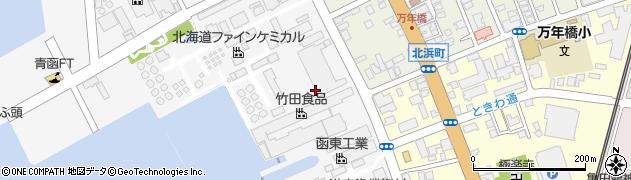 北海道函館市浅野町周辺の地図