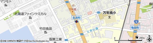 北浜町周辺の地図