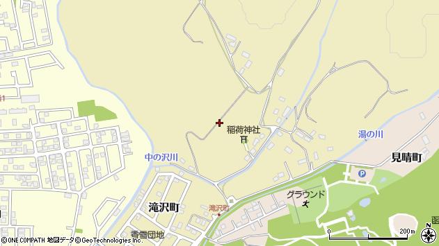 〒042-0957 北海道函館市滝沢町の地図