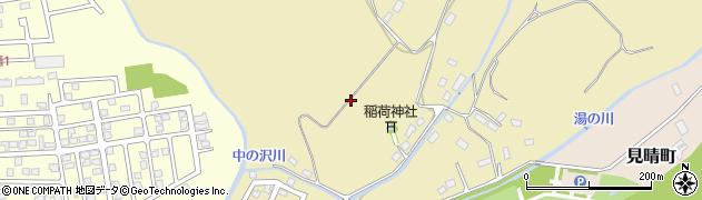 北海道函館市滝沢町周辺の地図