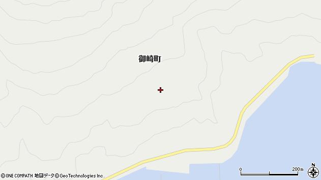 〒041-0521 北海道函館市御崎町の地図