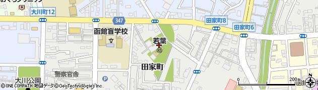 大称寺周辺の地図