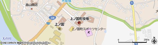 北海道上ノ国町(檜山郡)周辺の地図