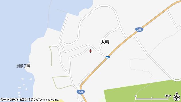 〒049-0603 北海道檜山郡上ノ国町大崎の地図