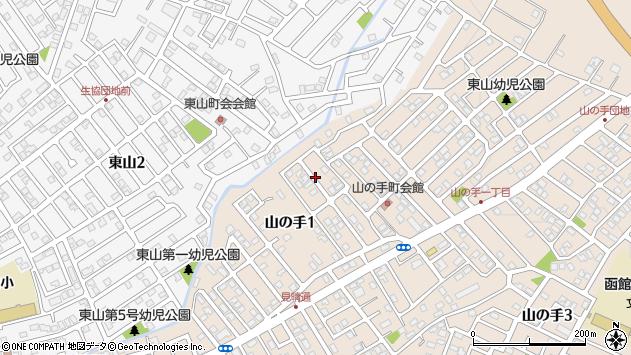 〒041-0836 北海道函館市山の手の地図