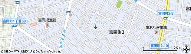 北海道函館市富岡町2丁目52周辺の地図