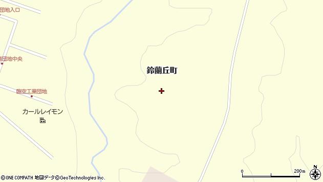 〒042-0958 北海道函館市鈴蘭丘町の地図