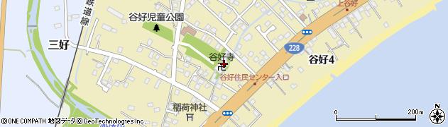 谷好寺周辺の地図