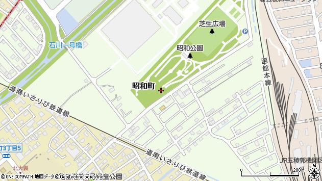 〒041-0823 北海道函館市昭和町の地図