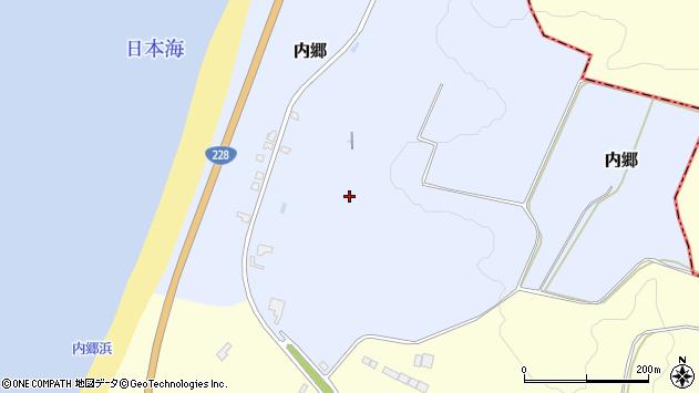 〒049-0621 北海道檜山郡上ノ国町内郷の地図