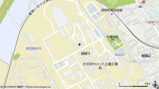 〒049-0141 北海道北斗市谷好の地図