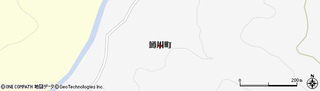 北海道函館市鱒川町周辺の地図