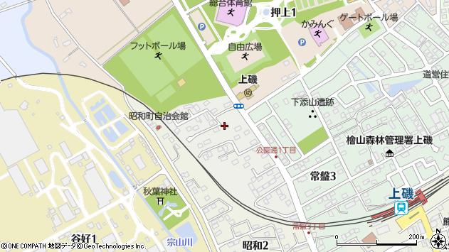 〒049-0143 北海道北斗市公園通の地図