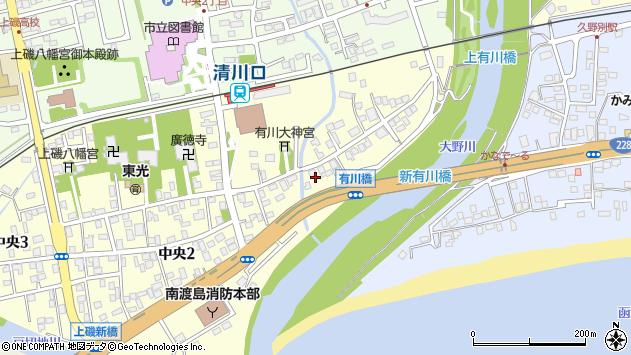 〒049-0162 北海道北斗市中央の地図