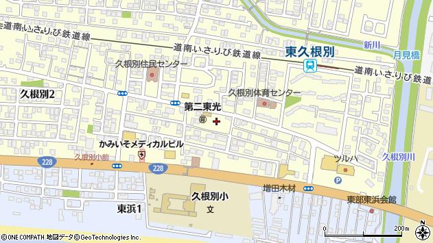 〒049-0121 北海道北斗市久根別の地図