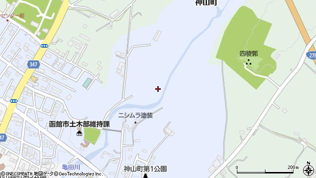 〒041-0831 北海道函館市神山町の地図