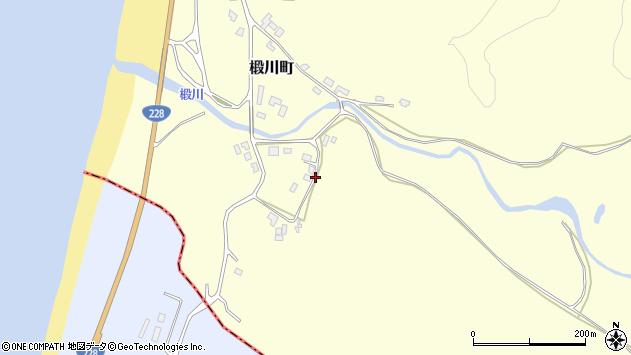 〒043-0066 北海道檜山郡江差町とど川町の地図