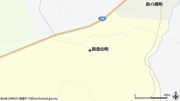 〒041-0606 北海道函館市新恵山町の地図