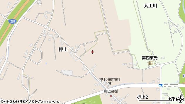 〒049-0152 北海道北斗市押上の地図