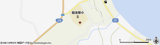北海道函館市新八幡町周辺の地図