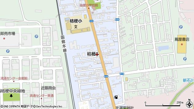 〒041-0808 北海道函館市桔梗の地図