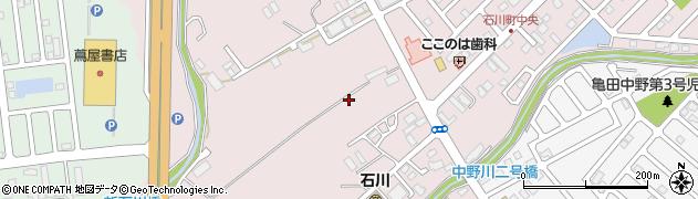 北海道函館市石川町周辺の地図