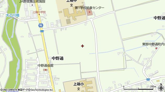 〒049-0156 北海道北斗市中野通の地図