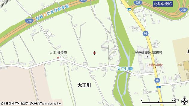 〒049-0153 北海道北斗市大工川の地図