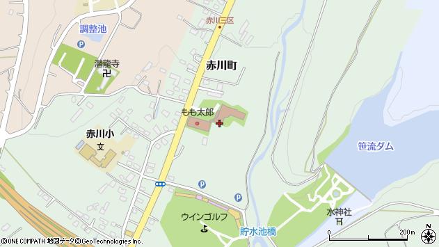 〒041-0804 北海道函館市赤川町の地図