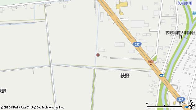 〒041-1215 北海道北斗市萩野の地図