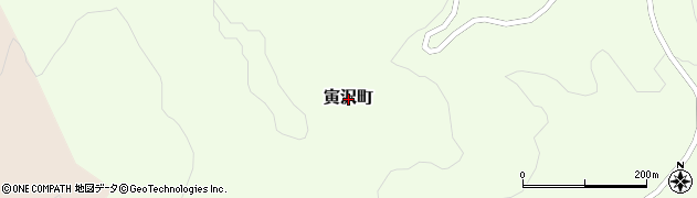 北海道函館市寅沢町周辺の地図