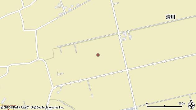 〒049-0157 北海道北斗市清川の地図