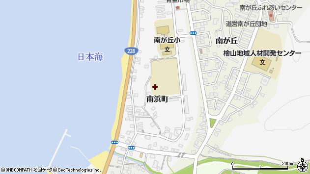 〒043-0063 北海道檜山郡江差町南浜町の地図