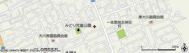 北海道亀田郡七飯町大川周辺の地図