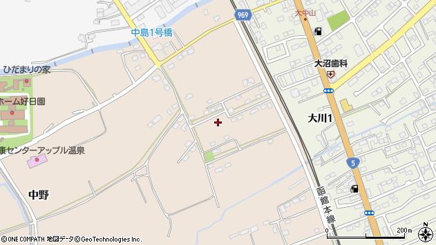 〒041-1131 北海道亀田郡七飯町中野の地図