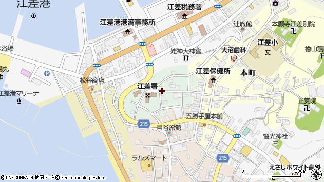 〒043-0042 北海道檜山郡江差町上野町の地図