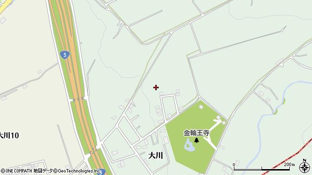 〒041-1122 北海道亀田郡七飯町大川の地図