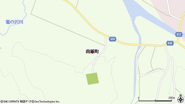 〒043-1365 北海道檜山郡厚沢部町南館町の地図