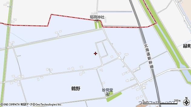 〒041-1134 北海道亀田郡七飯町鶴野の地図