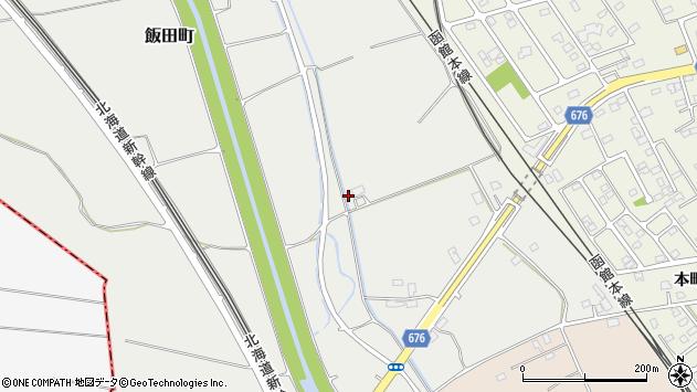 〒041-1136 北海道亀田郡七飯町飯田町の地図