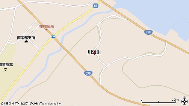 〒041-1611 北海道函館市川汲町の地図