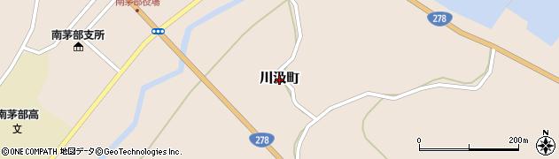 北海道函館市川汲町周辺の地図