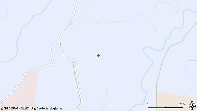 〒043-1361 北海道檜山郡厚沢部町社の山中の沢の地図