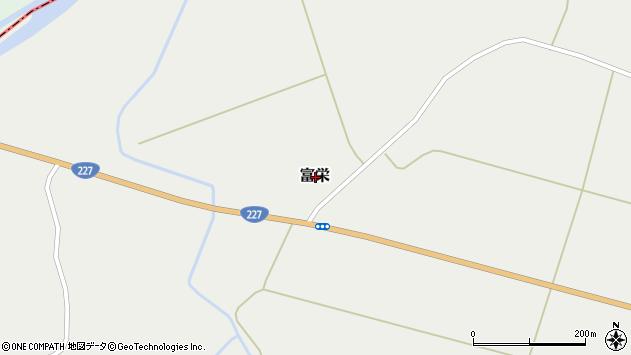 〒043-1118 北海道檜山郡厚沢部町富栄の地図