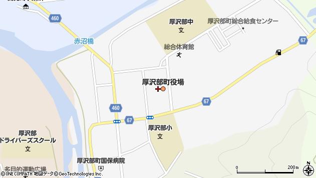 〒043-1100 北海道檜山郡厚沢部町(以下に掲載がない場合)の地図